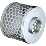 PT Coupling Carbon Steel  Round Hole Pump Suction Strainer, 1-1/2""