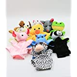 Xkx 10 Set Cute Animal Hand Puppets Toys For Kids,Lots Of Fun