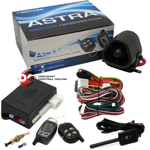 Scytek Astra 4000Rs-2W (4000Rs-2W-Dbp) Remote Start 2-Way Car Alarm With 2 Remotes (1 Lcd Pager, 1 Sidekick Remote) And Data Bus Port front-589197