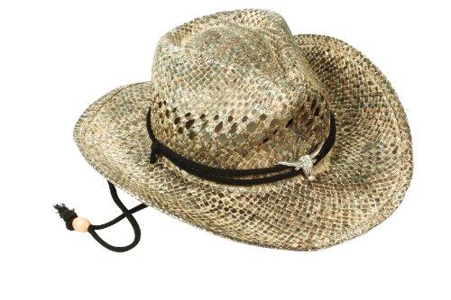 Western Unisex Men Women Outdoor Straw Cowboy Hat Beach Sun Cap - Fathers Day Gifts