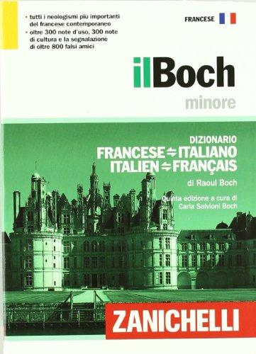 Il Boch minore Dizionario francese italiano italien français PDF
