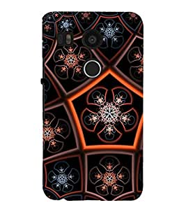 iFasho Animated Pattern design colorful flower in royal style Back Case Cover for Huawei Google Nexus 6P