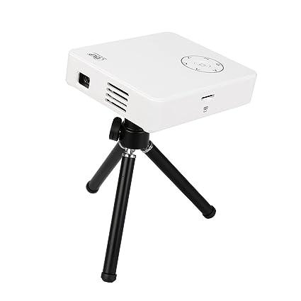 Flylinktech DLP M9 Mini Vidéoprojecteur Portable Avec Batterie Amovible De 3200mah Interface Entrée HDMI/ USB/ VGA/ AV/ SD