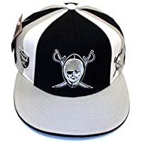 NEW Oakland Raiders Structured Fitted Reebok Hat - Size 7 3/4