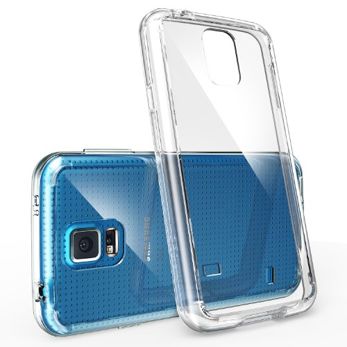 [FREE HD Film-DROP PROTECTION] Ringke FUSION® Galaxy S5 Case Bumper **NEW RELEASE**[CRYSTAL VIEW] FREE Premium HD Clear Screen Protector Included The Best Selling Shock Absorption Bumper + Anti Scratc