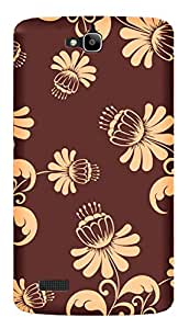 TrilMil Printed Designer Mobile Case Back Cover For Huawei Honor 3C