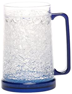 Decodyne Freezer Mug - Double Wall -16oz. Capacity (Blue)