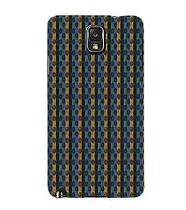 Zig Zag Lines 3D Hard Polycarbonate Designer Back Case Cover for Samsung Galaxy Note 3 N9000 :: Samsung Galaxy Note 3 N9002 :: Samsung Galaxy Note 3 N9005 LTE
