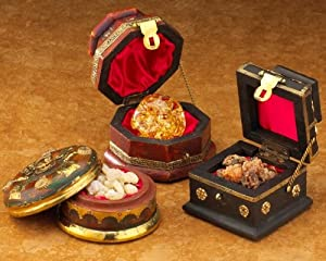 Three Kings Gold, Frankincense & Myrrh - Original Gifts of Christmas Standard Three Box Set by Three Kings Gifts