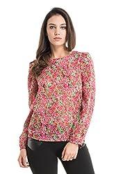 Kazo Women's Button Down Shirt (112774PINKCM)
