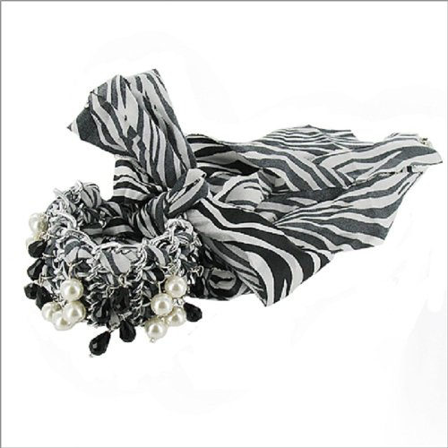 Multi Charm W Animal Print Wrap Bracelet #039420