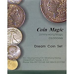MMS Dream Coin Set (with DVD) by Johnny Wong - Trick
