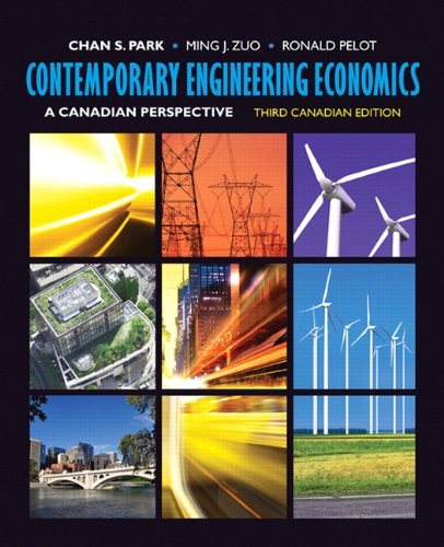 Contemporary Engineering Economics: A Canadian...