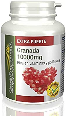 Super Strength POMEGRANATE 10000mg Powerful & Highly Absorbent Antioxidant 240 Tablets from Simply Supplements