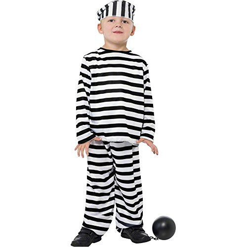 Prisoner Boy Kids Costume