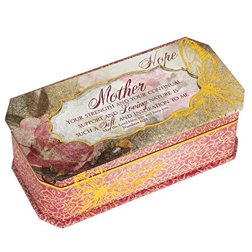 Mother a Gift and Inspiration Gold Butterfly Flower Jewelry Music Box Plays How Great Thou Art (Personalized Photo Box compare prices)