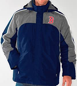 Boston Red Sox MLB Defense Systems 3-in-1 Heavyweight Performance Jacket by G-III Sports