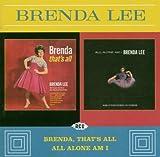 echange, troc Brenda lee - Brenda, That's all / all alone am i