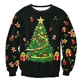 大人のノベルティ服すべて包まの醜いクリスマスのセーターM