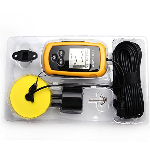 Generic Fish Finder Color Yellow