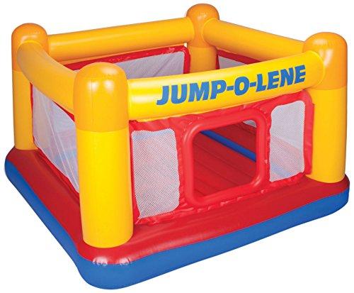 "Intex Playhouse Jump-O-Lene Inflatable Bouncer, 68"" X 68"" X 44"", for Ages 3-6"