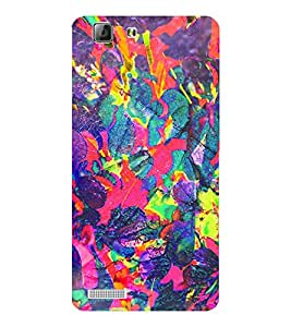 EPICCASE girly colors Mobile Back Case Cover For LENOVO A6600 (Designer Case)