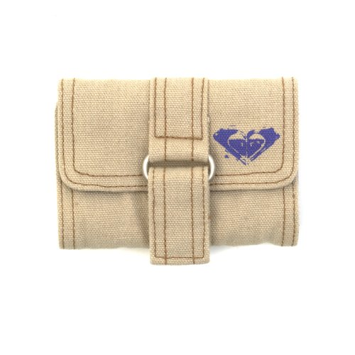 Roxy Ladies Purse Wallet - Little Cherry Canvas Beige