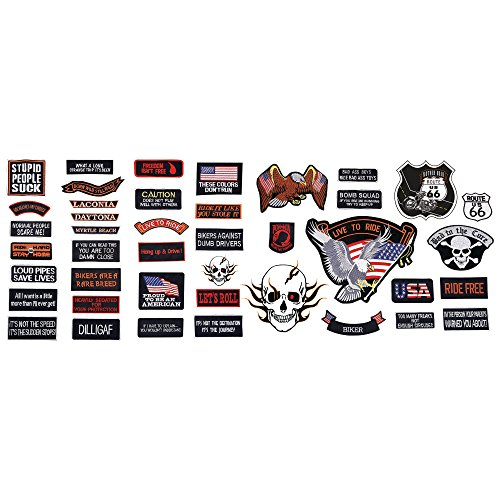 live-to-ride-42pc-embroidered-motorcycle-patch-set