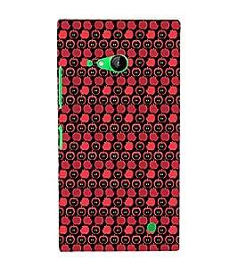 EPICCASE Apple Bites Mobile Back Case Cover For Nokia Lumia 730 (Designer Case)