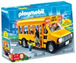 Playmobil - School Bus with Flashing...