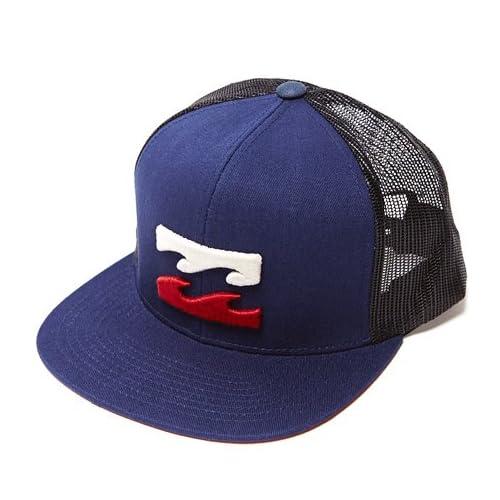 Billabong(ビラボン) メンズ ALL DAY TRUCKER MESH CAP(オールデイトラッカーメッシュキャップ) NVY