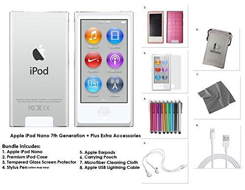 apple-ipod-nano-7g-16gb-silber-extra-zubehor-neues-modell-veroffentlicht-juli-2015-