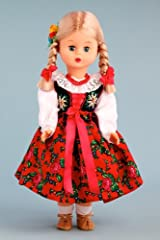 Highlander Girl (Goralka) - 18 Inch Collectible Regional Doll