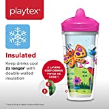 Playtex Sipsters Stage 3 Insulated Straw Sippy Cups - 9 Ounce - 2 Pack