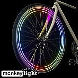 MonkeyLectric 40 lm Waterproof 4 Full Colored LED Bike Wheel Light
