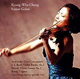 チョン・キョンファ 衝撃の東京ライヴ第2夜 ~ 1998年4月28日 (Stravinsky : Duo Concertante | J.S.Bach : Violin Partita No.2 , etc. ~ Tokyo Suntory Hall Live April 28th 1998 / Kyung-Wha Chung , Itamar Golan) [2CD]