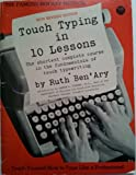 img - for Touch Typing in Ten Lessons book / textbook / text book