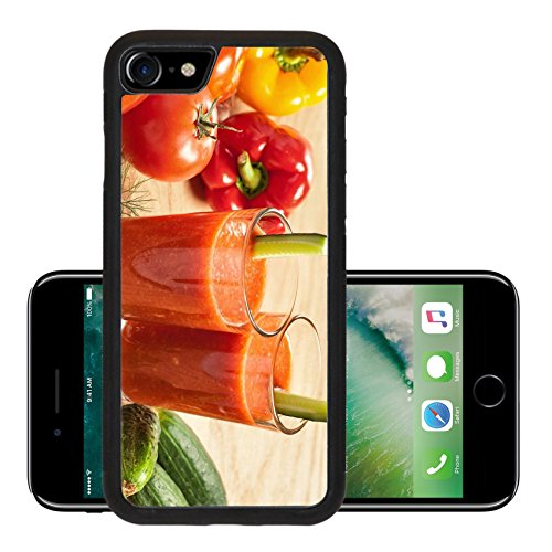 Liili Premium Apple iPhone 7 iPhone7 Aluminum Snap Case Healthy drink vegetable juice studio shot IMAGE ID 17721936 (California Cool Dill compare prices)