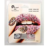Rainbow Caviar Manicure Set Rainbow Pearls, Black gloss or snow white ciate style