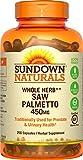 Rexall Sundown Sägepalme 450 mg 250 Kapseln