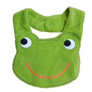 V-SOL Verde Baberos Nuevo Diseño De La Rana Almuerzo Toalla Linda Algodón Bebés Niños de V-SOL en BebeHogar.com