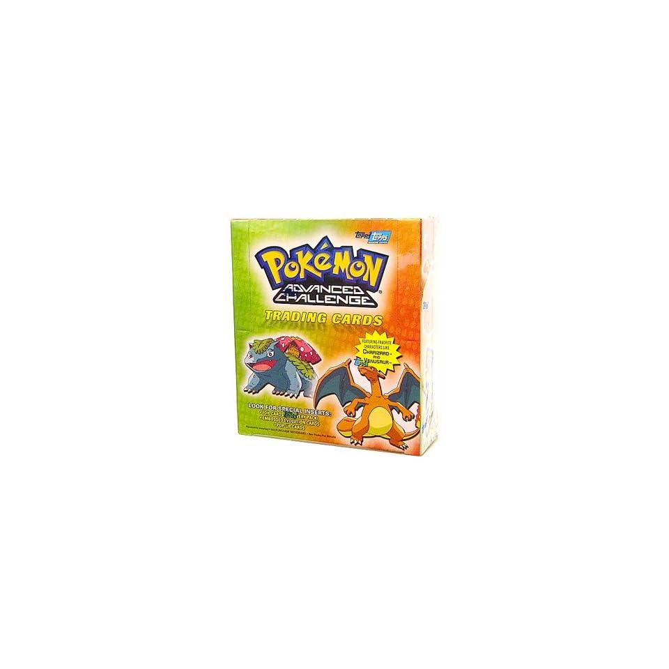 Topps Pokemon Advanced Challenge Trading Cards Box