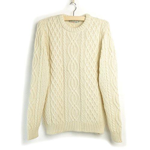 キルキール/Kilkeel #Cable Aran Knit ケーブルアランニット (36 (S), Aran (ナチュラルホワイト))