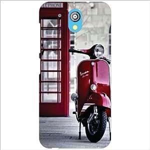 HTC Desire 526G Plus Back Cover - Scooter Designer Cases
