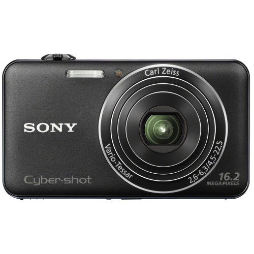 Sony DSCWX50 Compact Digital Camera - Black (16.2MP, 5x Optical Zoom) 2.7 inch LCD