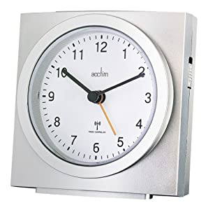 alarm clock analogue radio controlled 71557 by acctim. Black Bedroom Furniture Sets. Home Design Ideas