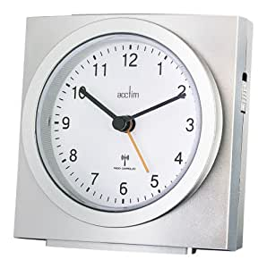 alarm clock analogue radio controlled 71557 by acctim electronics. Black Bedroom Furniture Sets. Home Design Ideas