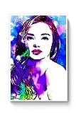 PosterGuy Posters (12X18 inch) - Miranda Kerr Pop Fan Artwork | Designed by: Pulkit Taneja