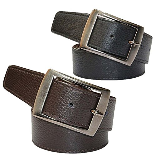 Combo Pack Of Fahionable Belts For Men and Boys (Black – Brown) (CM-BLTS-008)
