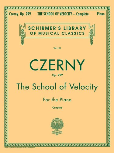 School of Velocity, Op. 299 (Schirmer's Library of Musical Classics)